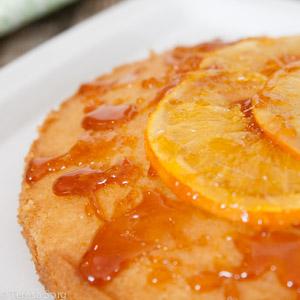 Saftige Winter Freude Getrankter Orangenkuchen Kleines Tortchen